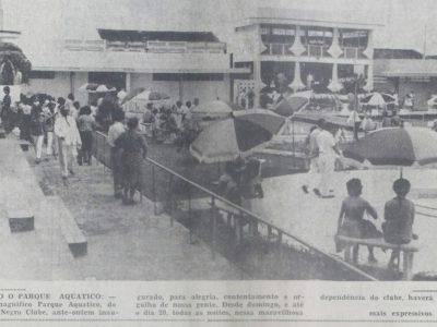 O Parque Aquático do Rio Negro Clube