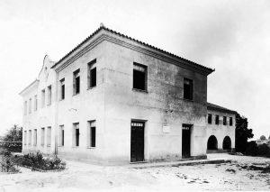 Durango Duarte - Pavilhão Dom Basílio na década de 40
