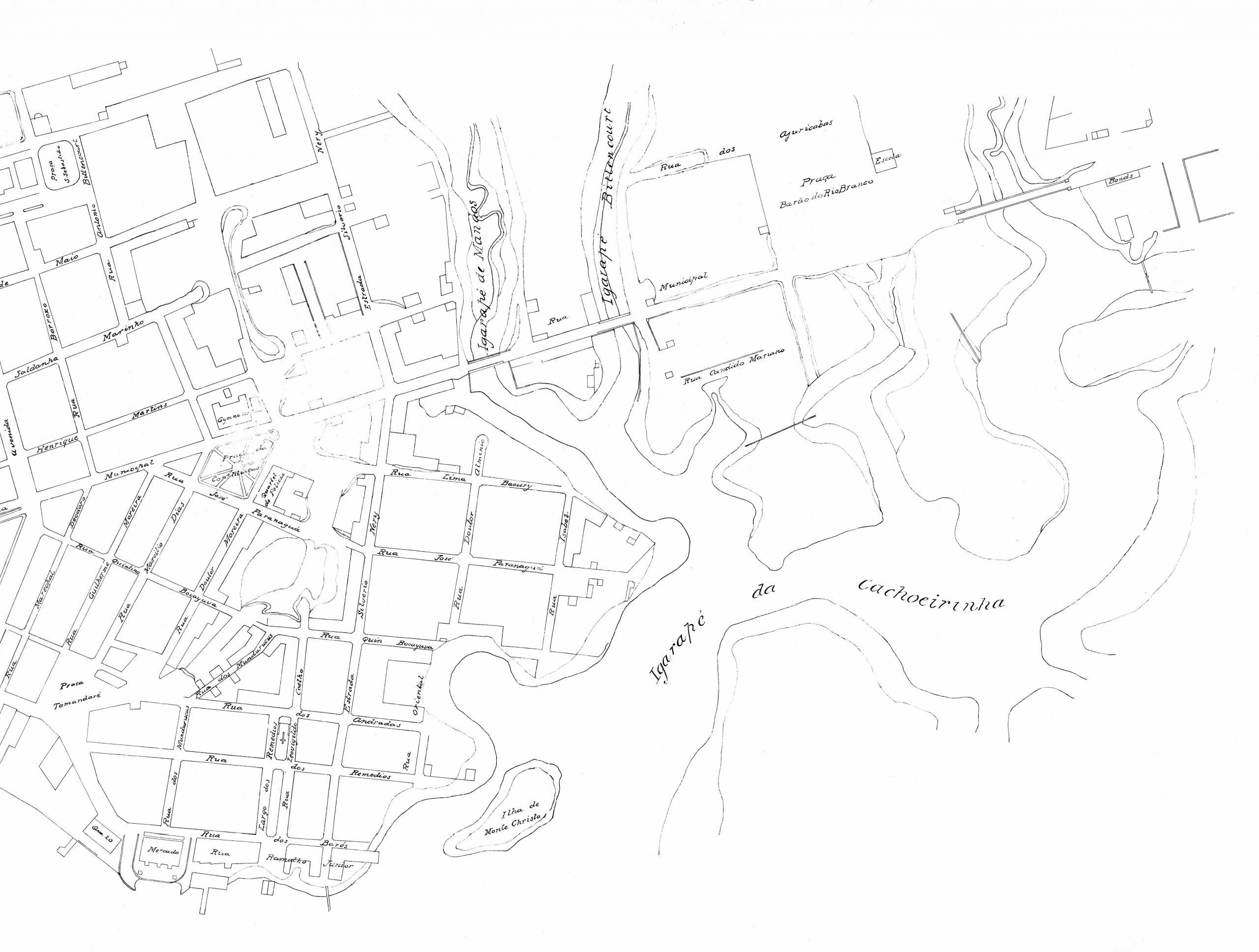 Plano de Manáos de 1913 - parte II