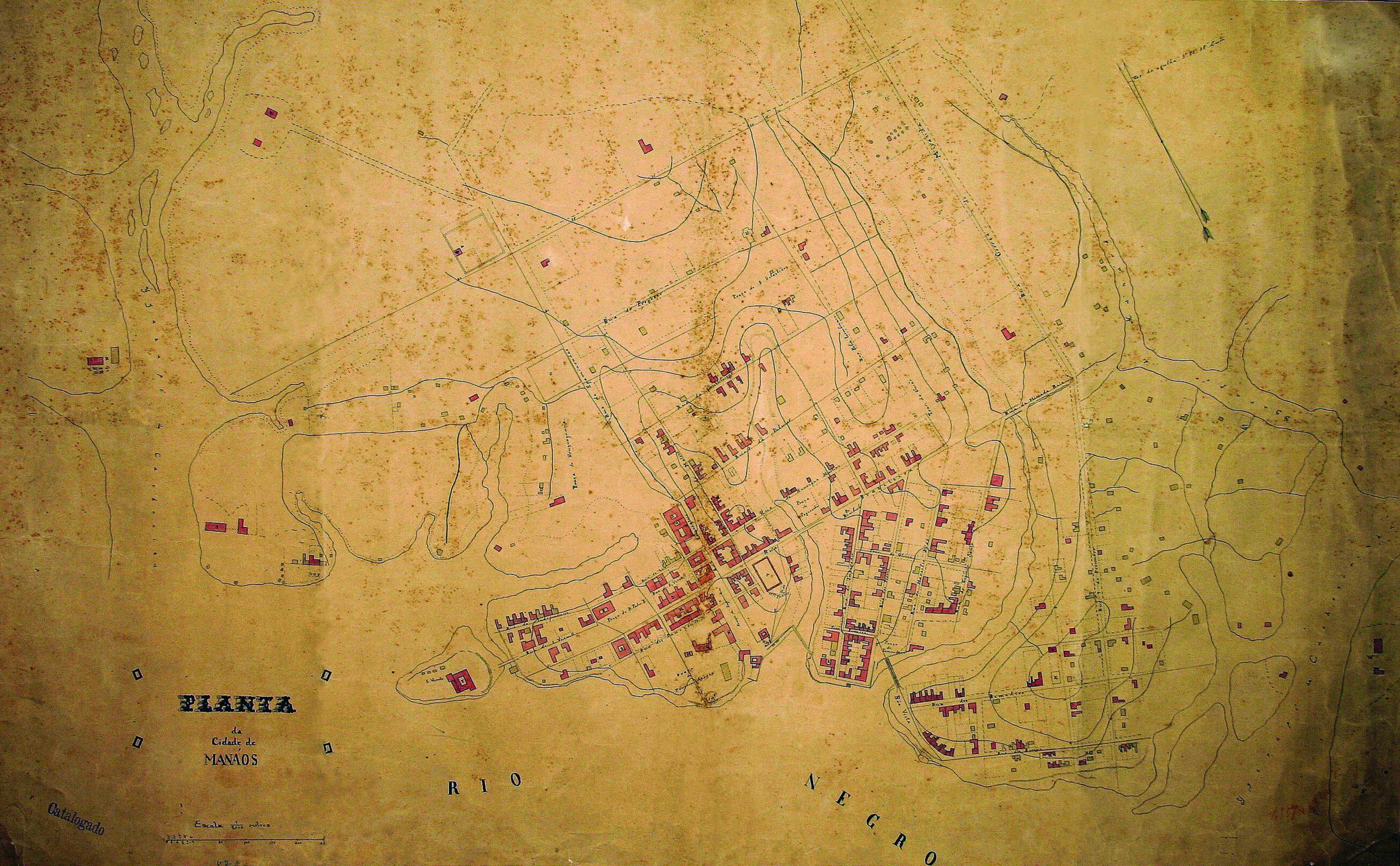 Planta da Cidade de Manáos de 1879