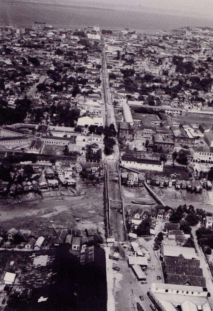 Ponte Benjamin Constant e a Cadeia Pública - Instituto Durango Duarte
