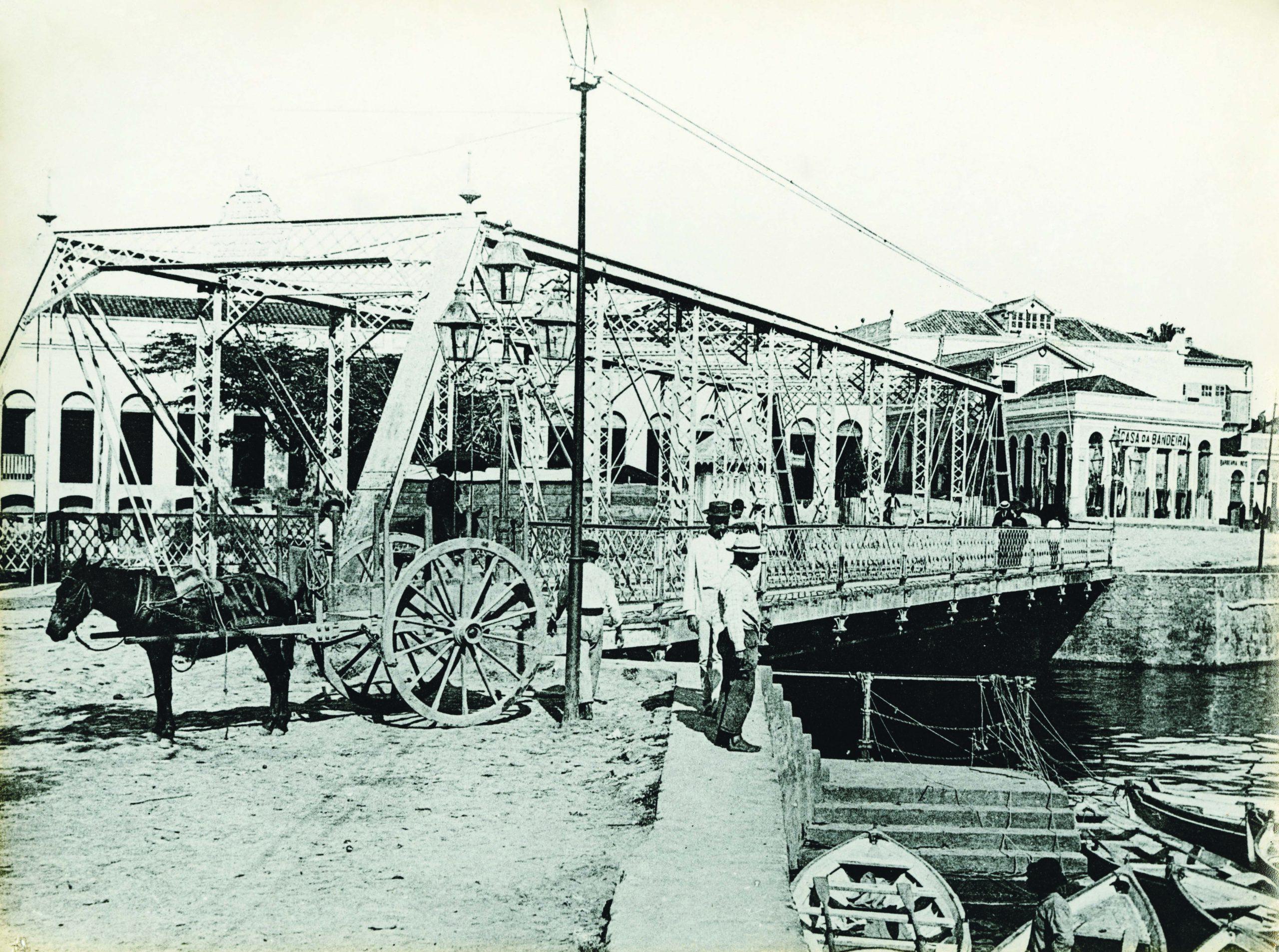 Imagem da Ponte de Ferro dos Remédios