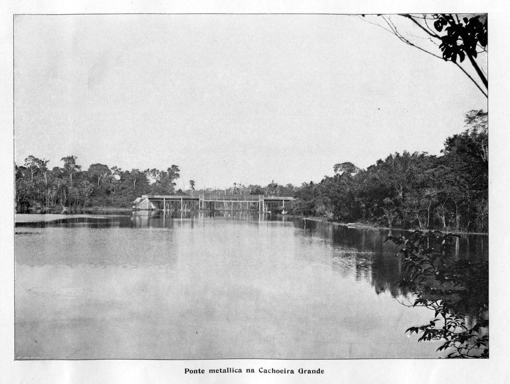 Ponte Metálica da Cachoeira Grande