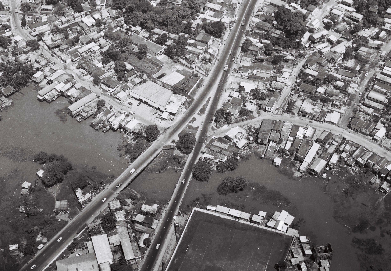 Pontes de acesso ao bairro São Jorge - Instituto Durango Duarte