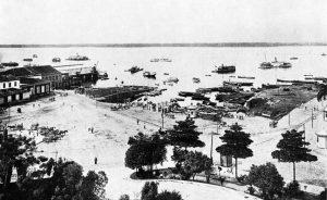 Durango Duarte - Porto da cidade de Manaus em 1902