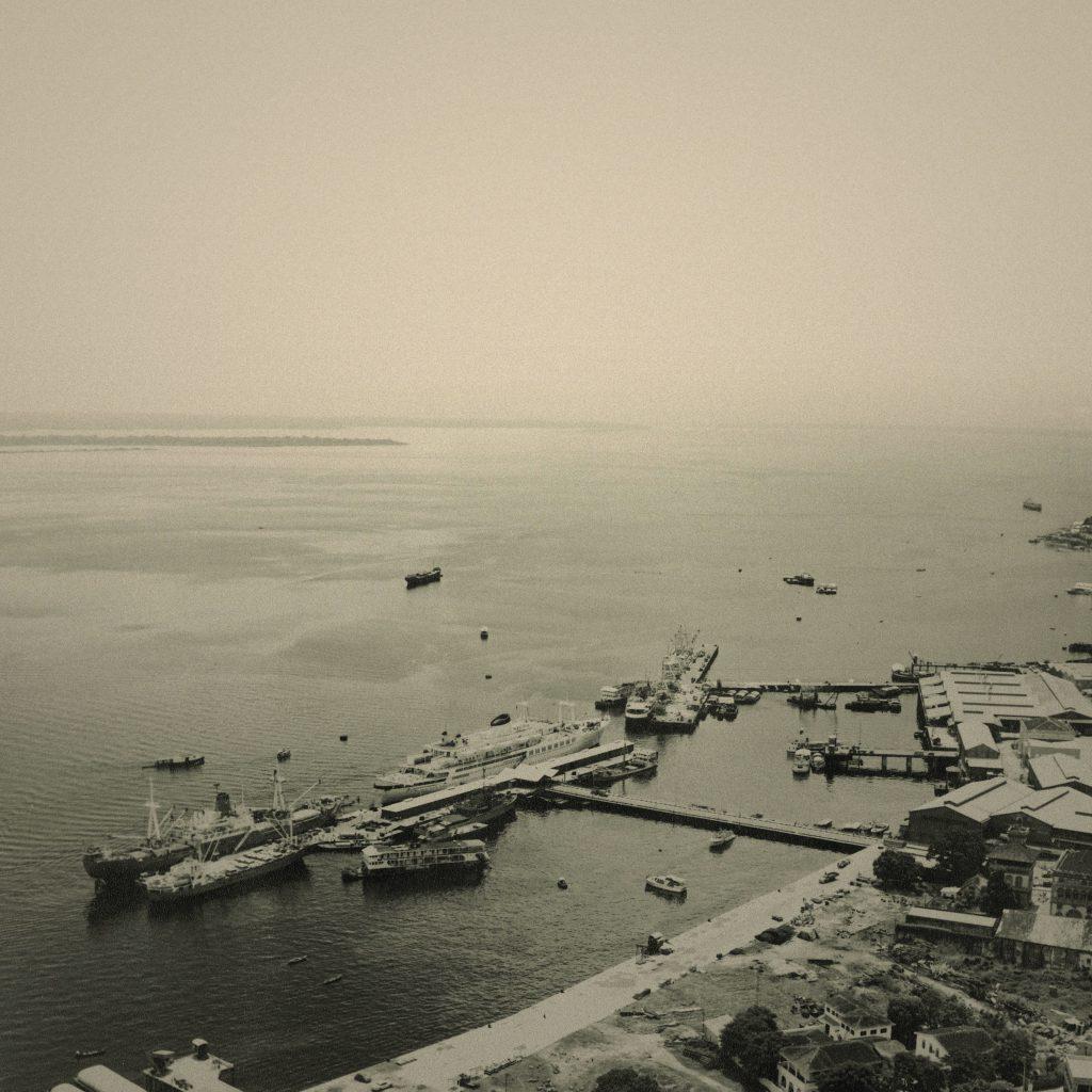 Fotografia Tirada do Porto de Manaus por Silvino Santos