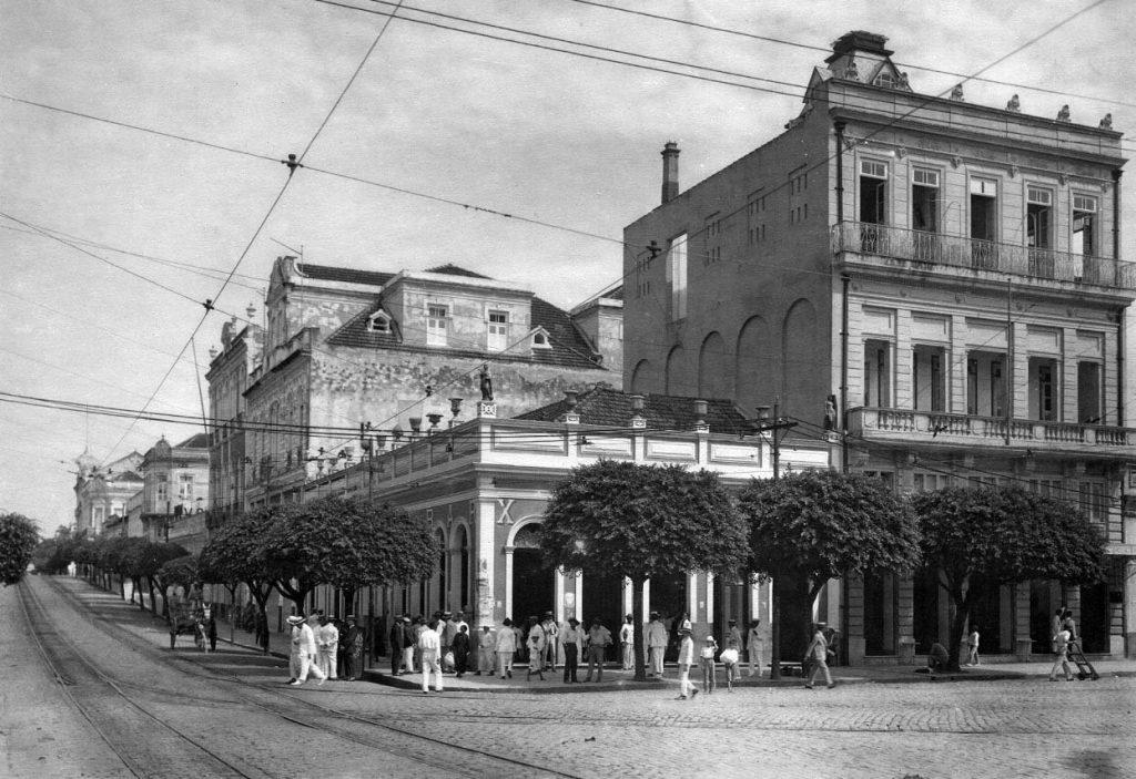 Prédios históricos da Manaus da década de 1930 - IDD