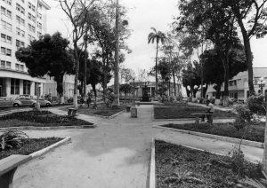 Durango Duarte - Praça Dom Pedro II na década de 1960