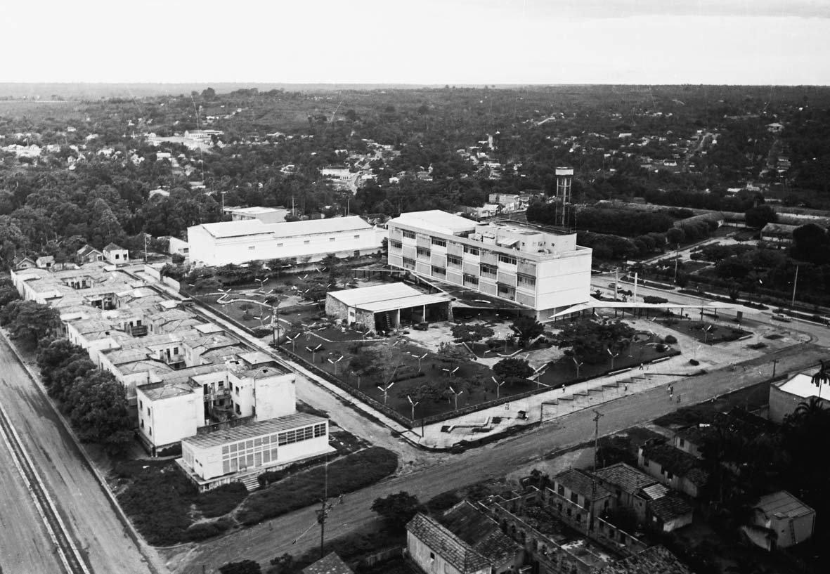 Vista da área da Extinta Praça Gomes Carneiro