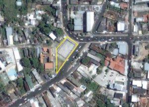 Imagem de satélite da extinta Praça José Lindoso