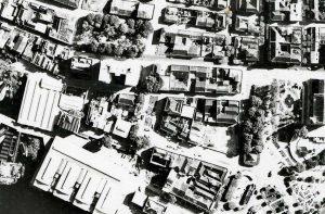 Durango Duarte - Praça Nove de Novembro na década de 1960