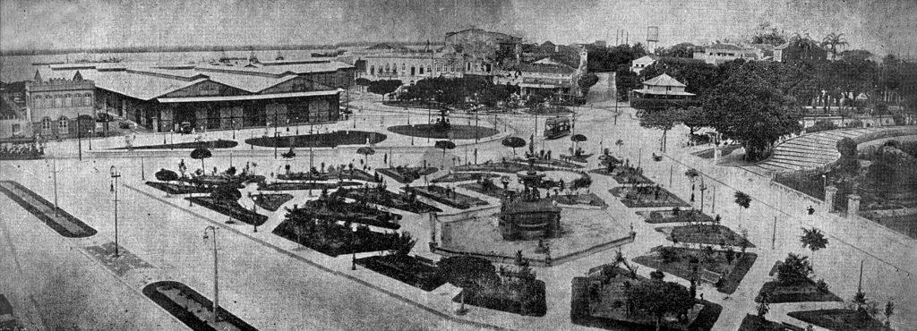 Fotografia da Praça Oswaldo Cruz - Instituto Durango Duarte