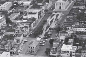 Durango Duarte - Praça dos Remédios na década de 1970