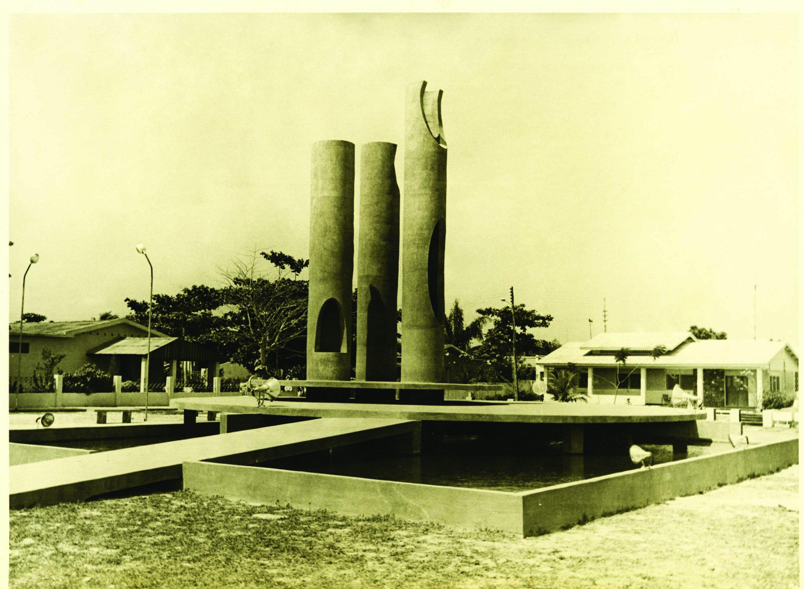 Vista da Praça Duque de Caxias no Bairro São Jorge
