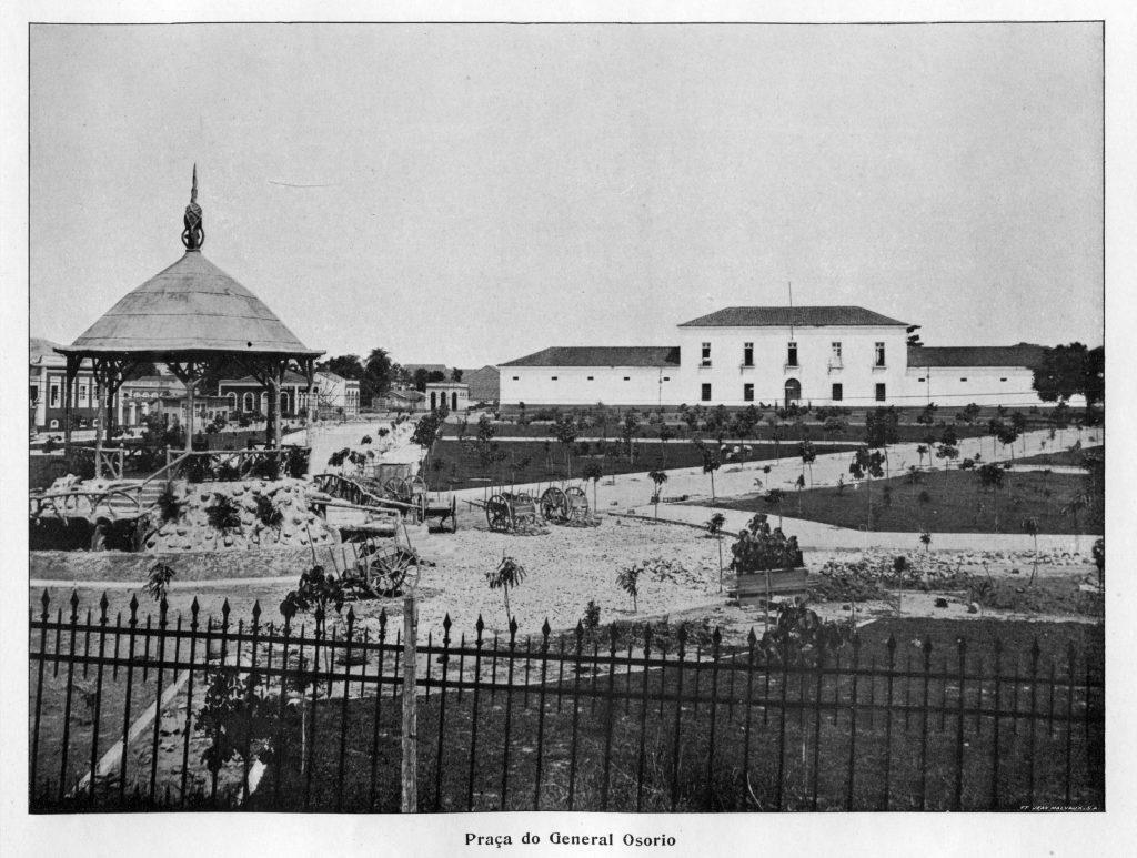 Detalhes da Praça General Osorio