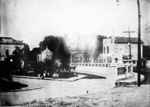 Durango Duarte - Praça Ribeiro da Cunha em 1929