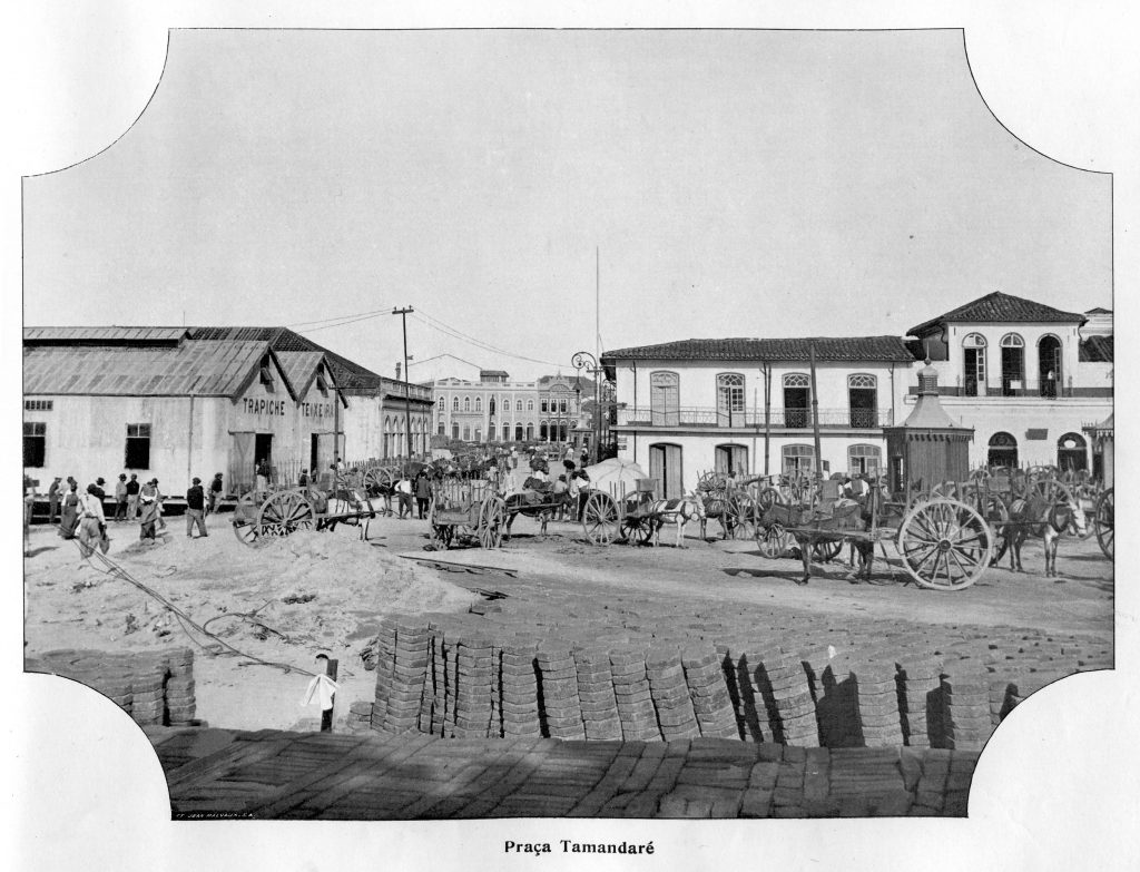 Praça Tamandaré e o Trapiche Teixeira