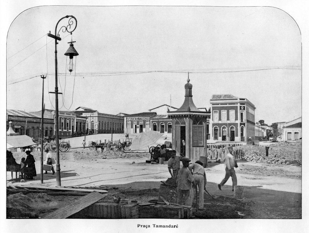 Detalhes da Praça Tamandaré