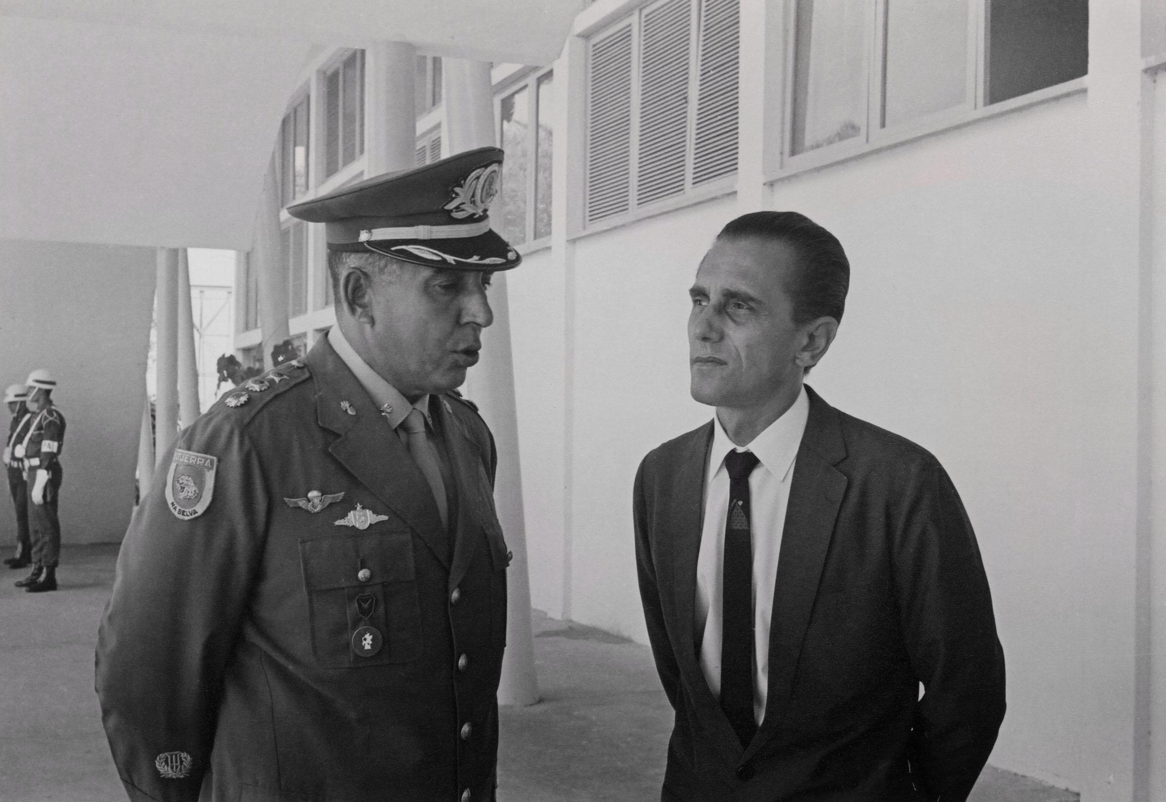 Coronel Jorge Teixeira no DERAM - Instituto Durango Duarte