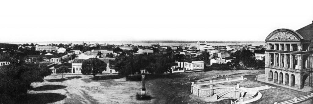 Primeiro monumento instalado em 1867