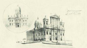 Durango Duarte - Projeto original de restauração da Matriz