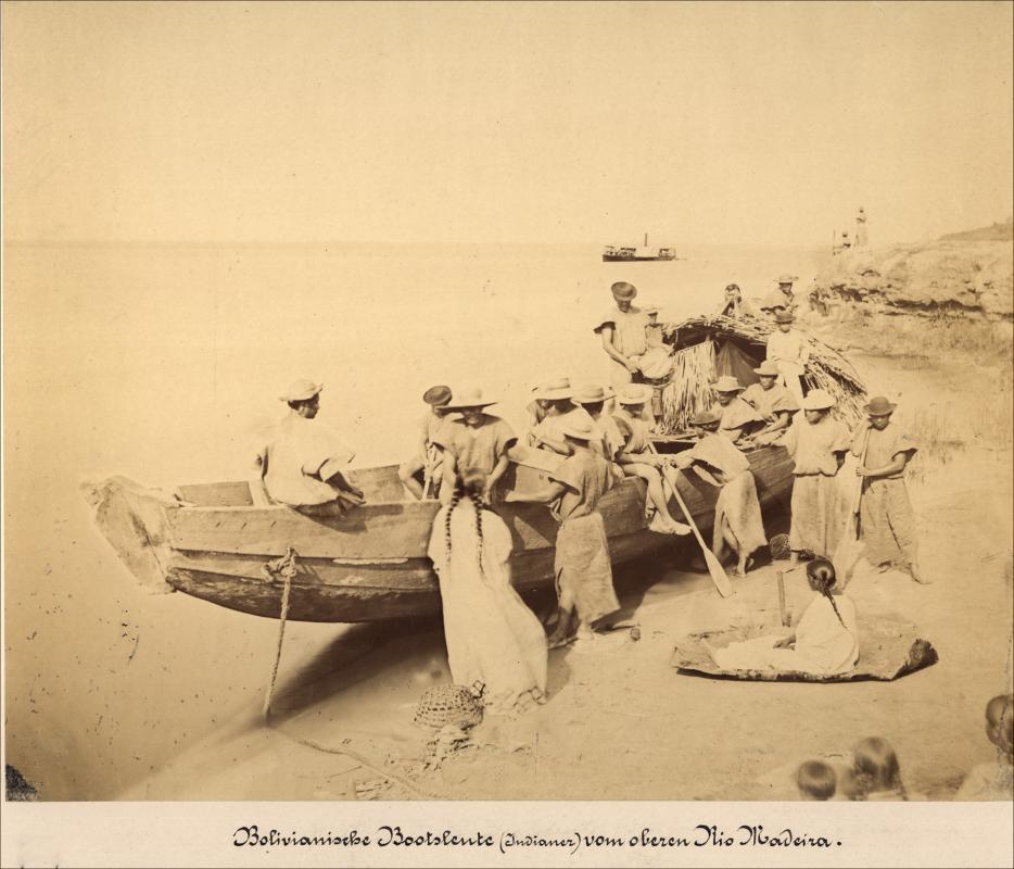 Imagem de remadores bolivianos - Instituto Durango Duarte