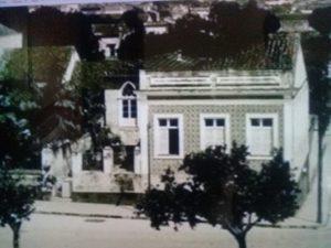 Varanda da casa de Théodore Lévy - Instituto Durango Duarte