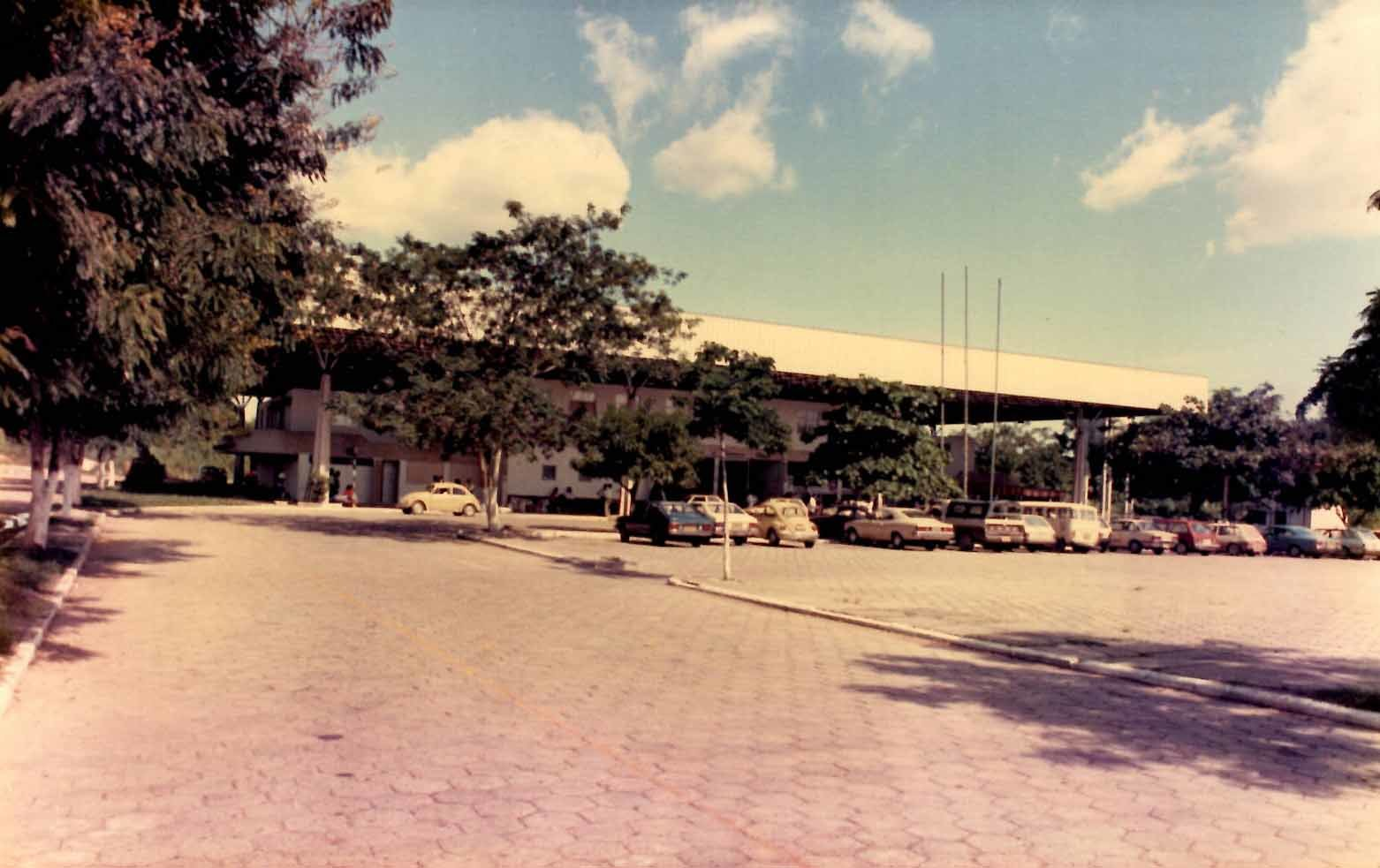 Fotografia da rodoviária de Manaus - Instituto Durango Duarte