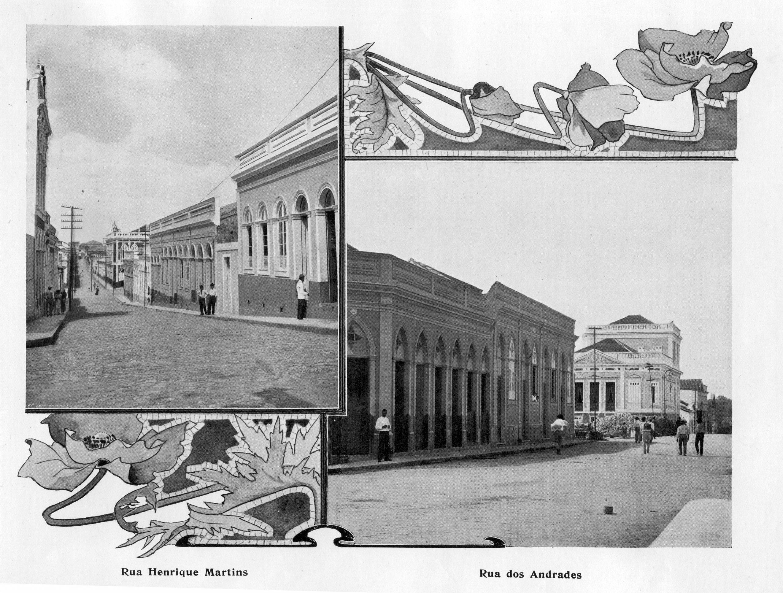 Ruas Henrique Martins e dos Andradas