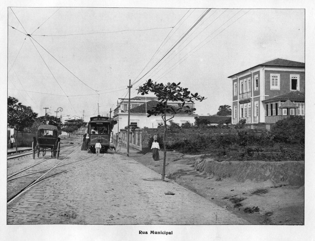 Vista da Antiga Rua Municipal