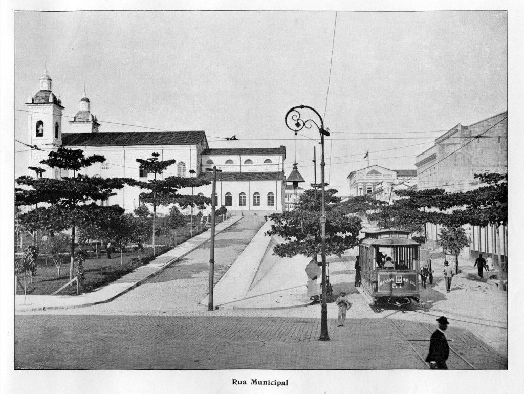 Rua Municipal em Manaus