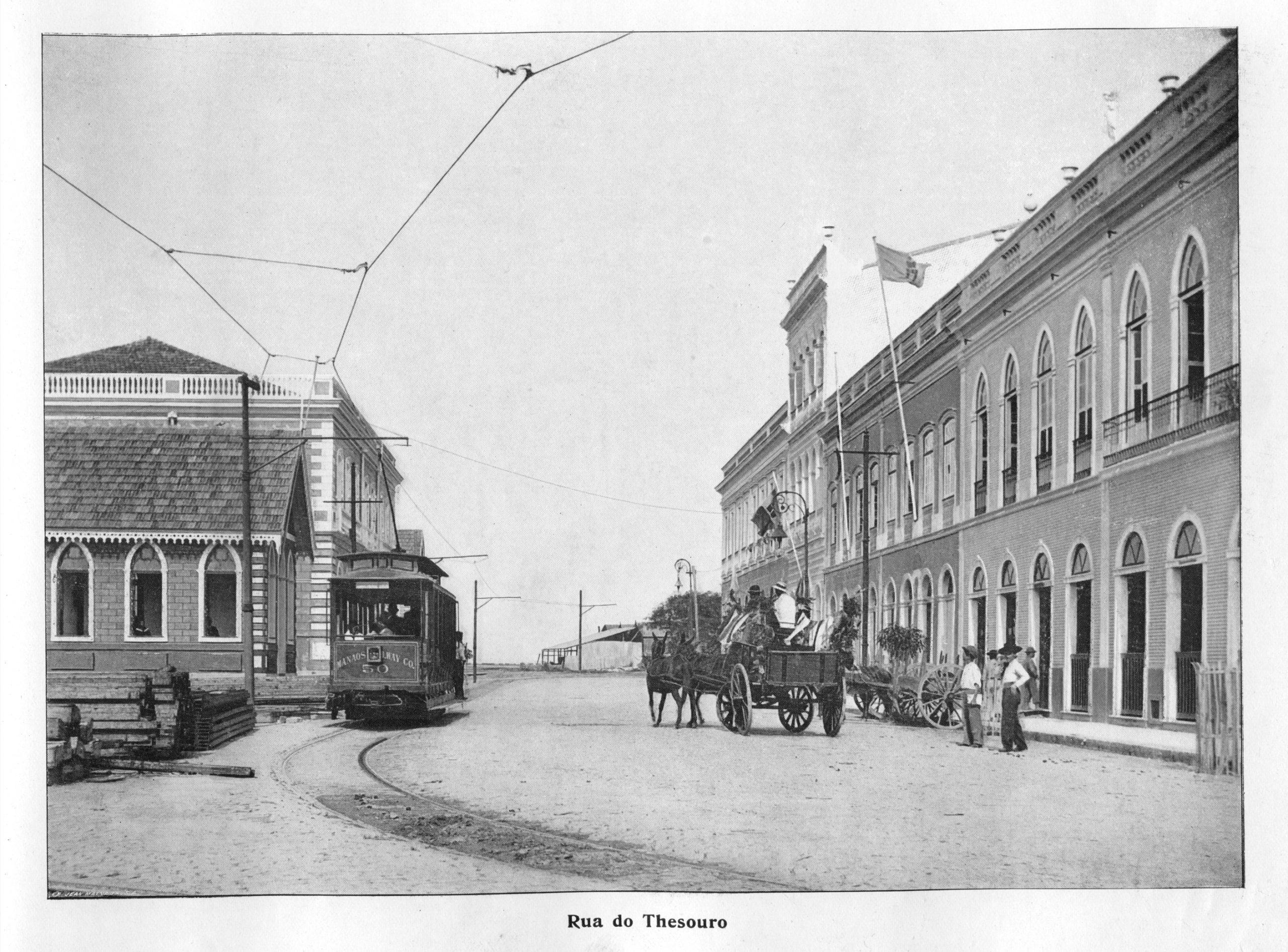 Rua do Tesouro em Manaus