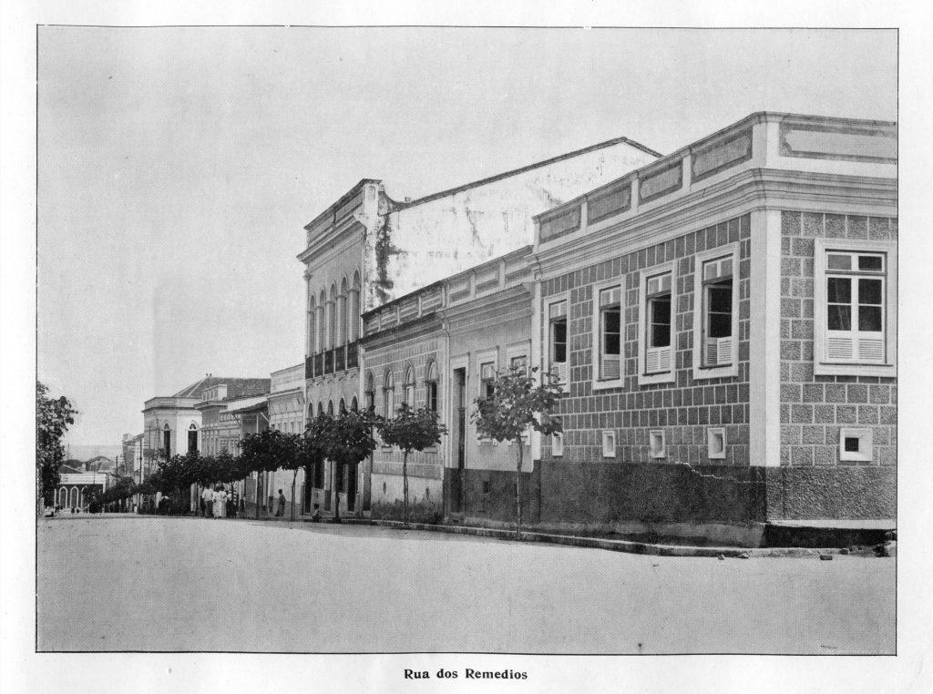 Rua dos Remédios em Manaus