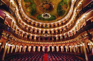 Durango Duarte - Salão de espetáculos do Teatro Amazonas