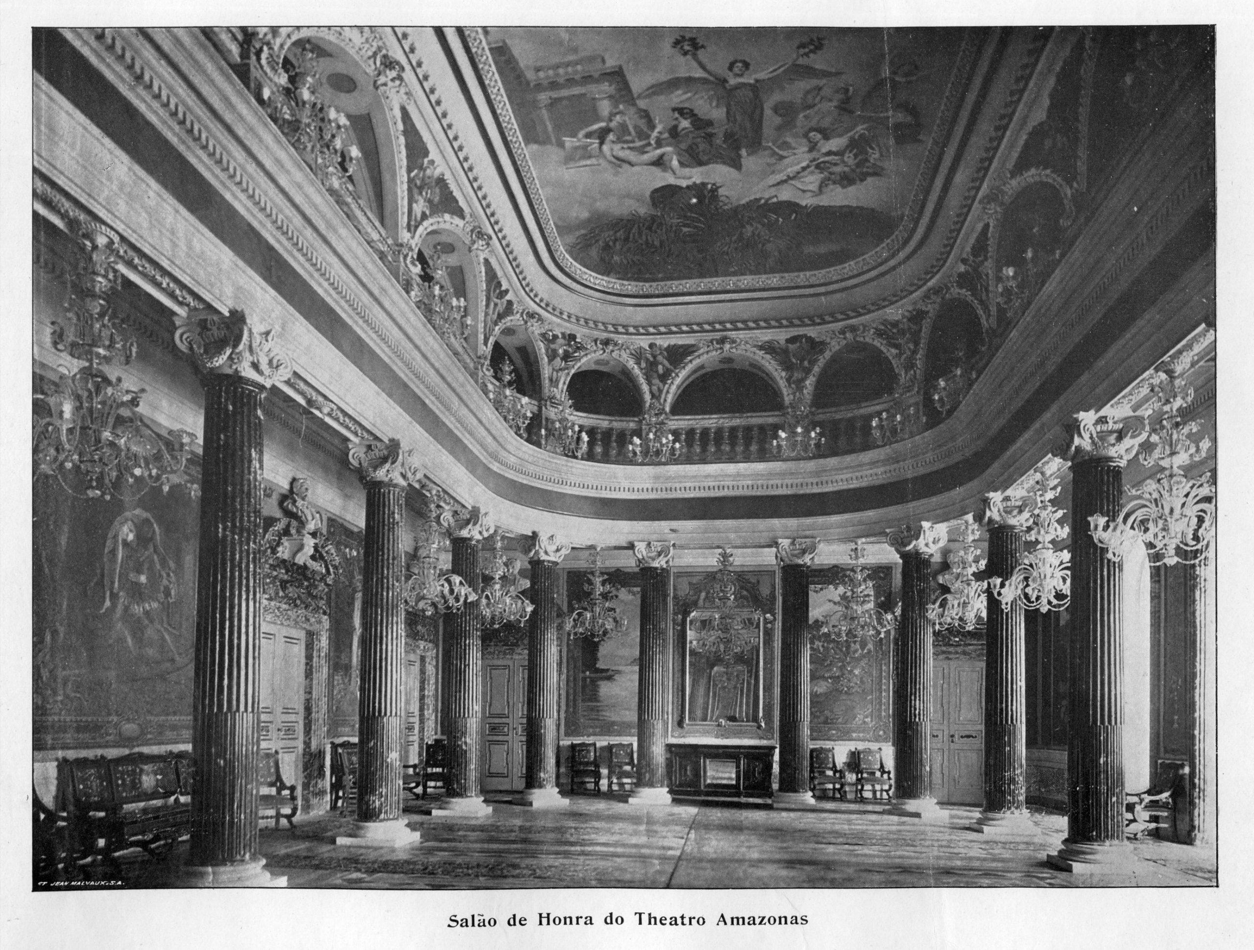Salão de Honra do Teatro Amazonas