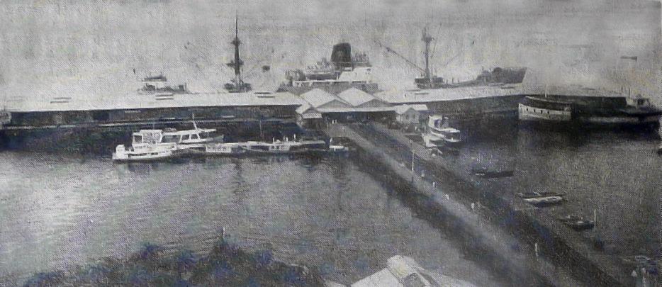 Vista do roadway da Manaus Harbour Limited