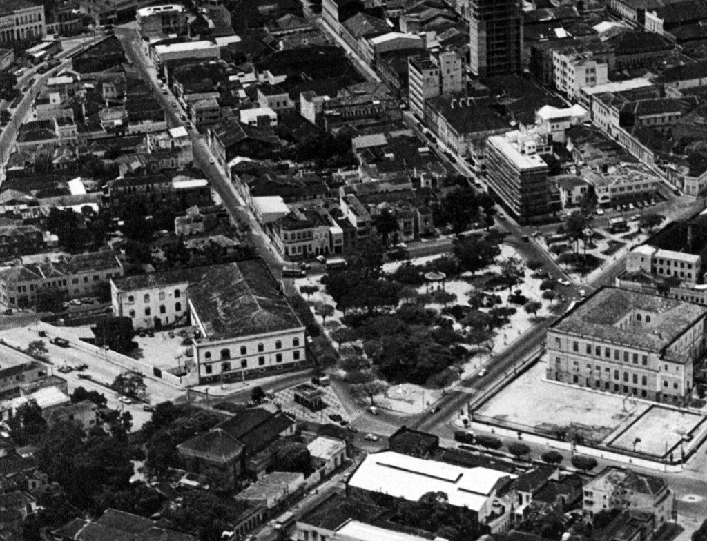 Vista aérea da Praça João Pessoa