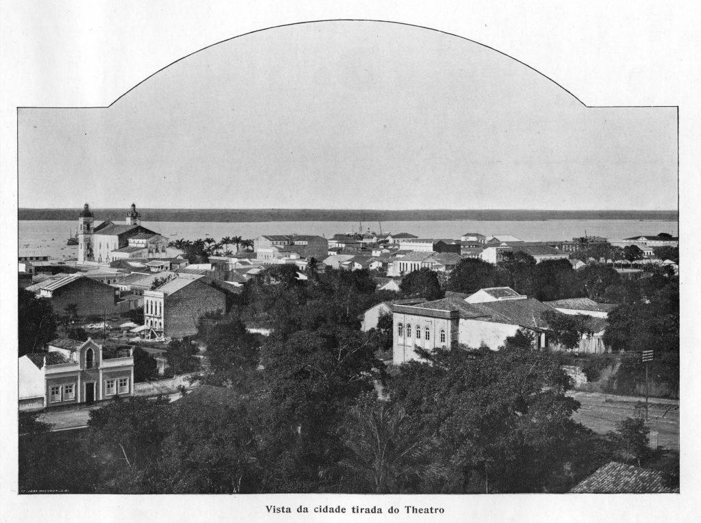 Vista da Cidade de Manaus