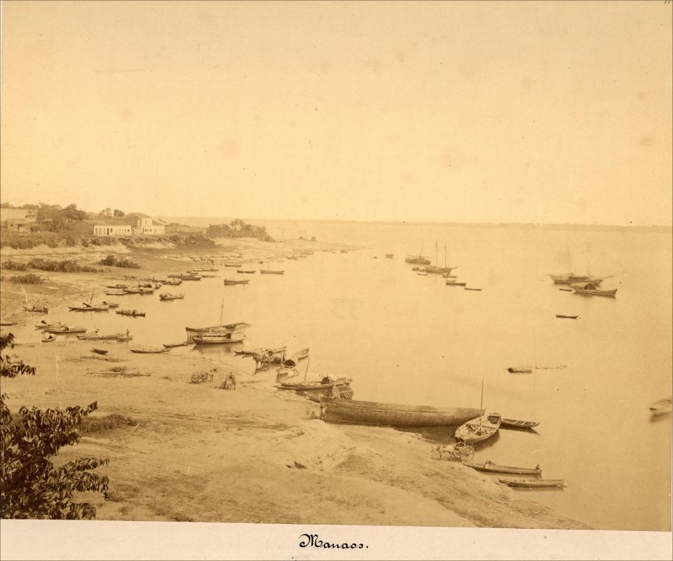 Vista de um rio de Manaus - Instituto Durango Duarte
