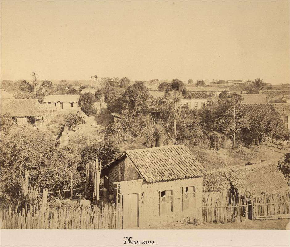 Vista de casas em Manaus - Instituto Durango Duarte