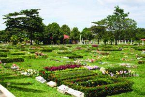 Durango Duarte - Vista do Cemitério Parque de Manaus