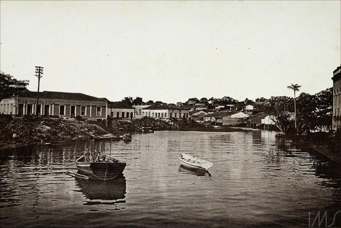 Vista do Igarapé do Espírito Santo - Instituto Durango Duarte