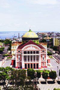 Vista do Teatro Amazonas