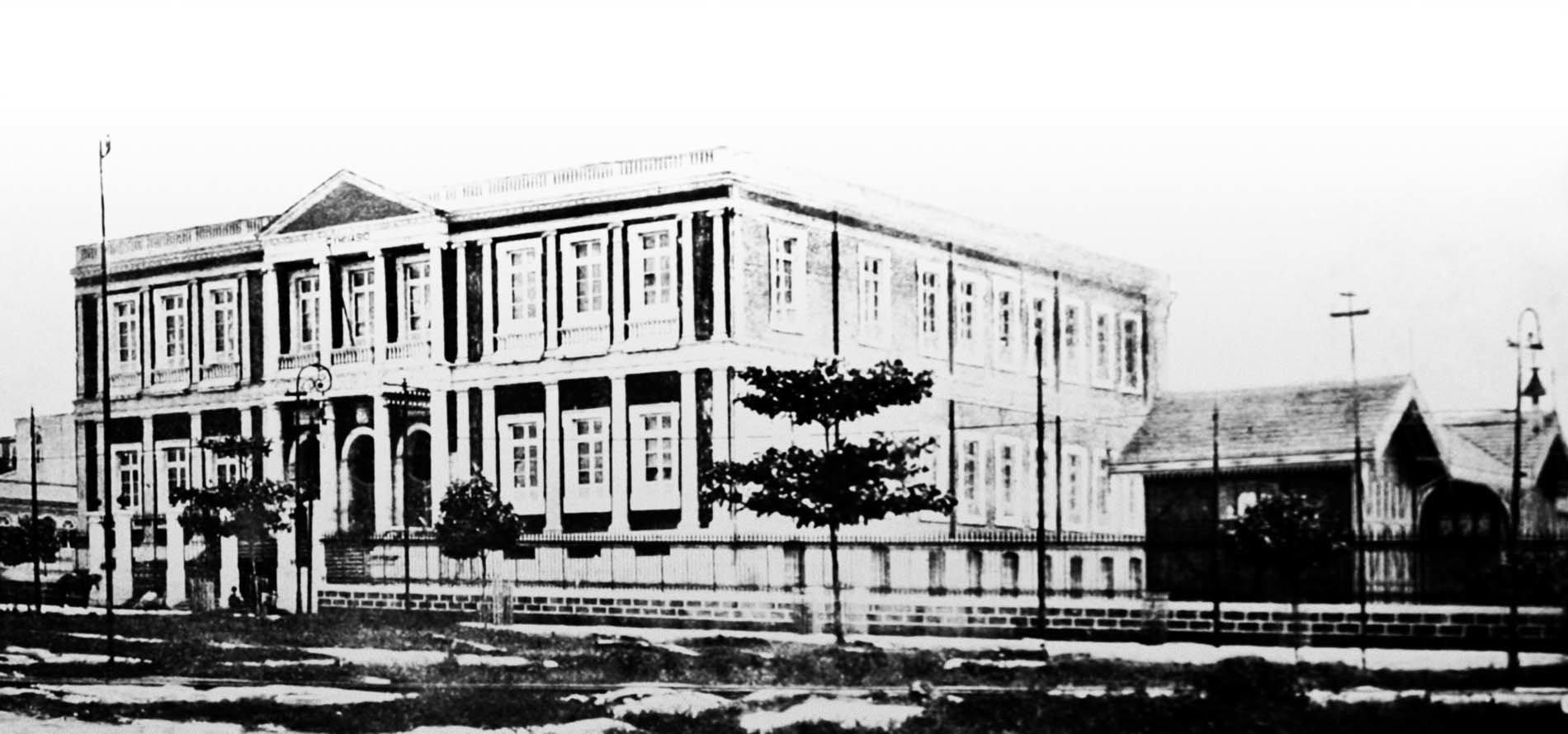Vista do edifício do Gymnasio Amazonense