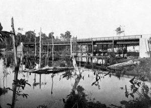 Durango Duarte - Vista lateral da Ponte Prudente de Moraes