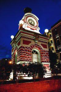 Durango Duarte - Vista noturna do Relógio Municipal