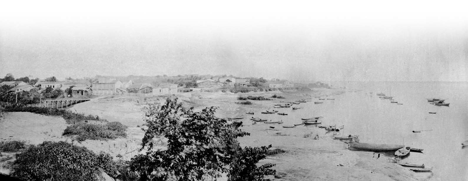 Vista da beira de um rio - Instituto Durango Duarte
