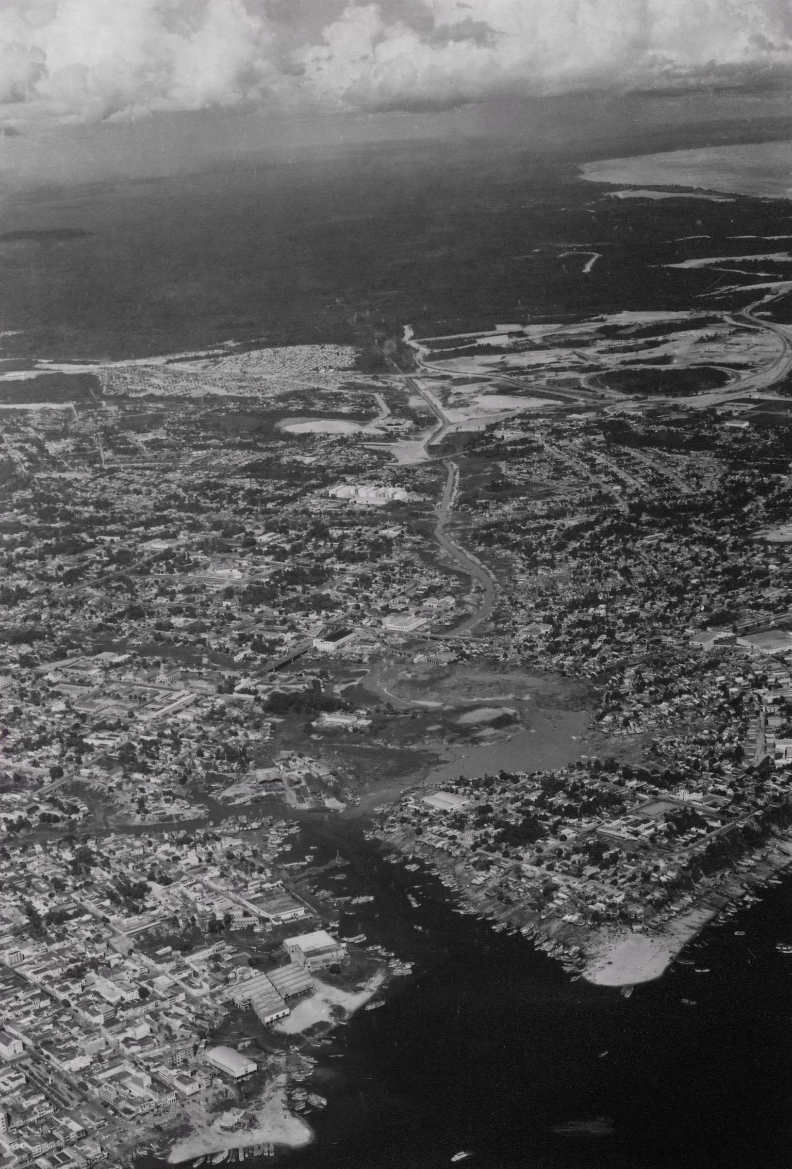 Foto aérea dos bairros da Zona Sul de Manaus - Instituto Durango Duarte