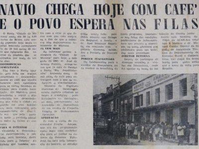 O fim da crise do café em Manaus