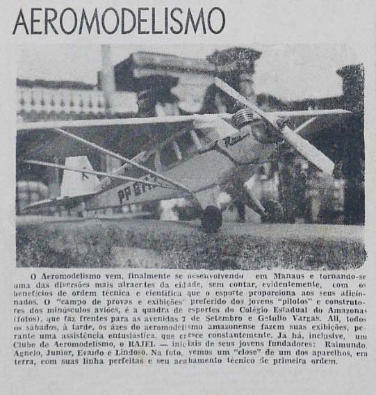 O Aeromodelismo em Manaus